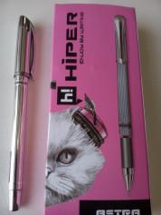 Ручка масл.Hiper Astra HO-110 0,7мм черная 10шт/уп ПРОДАЁТСЯ УПАКОВКАМИ