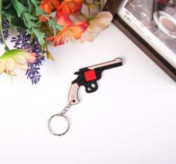 Брелок резин. пистолет JQI1213019 12шт/уп (2052шт/ящ)