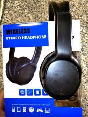 Наушники Wireless Stereo Headphones KTP-22, Black