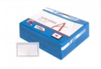 Бейдж пластиковый с клипом и булавкой, 9х5,5 см, 190микрон 50 штук в кор. A-883