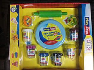 Масcа для лепки Play-Toys  6X50 gr (24) P-T 42263