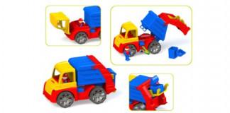 Автомобіль  М4 сміттєвоз  300   29*16*17см 18шт/уп