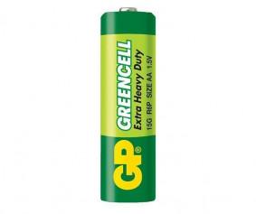 Бат..GP GREENCEL 06 солевая 40шт/уп. пальчик., 1200шт/ящ
