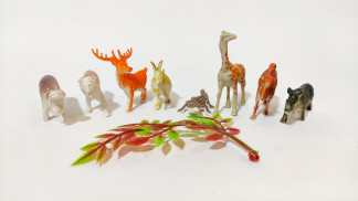 Набор диких животных в пакете (720 шт/ящ) 951585