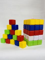 Кубики сити 45, арт.0419 Бамсик, Размер 18*6*18 см, Вес 550 г.(10шт/уп)