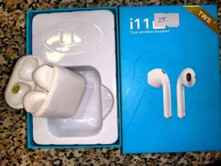Наушники True wireless-I 11 (25) Голубая коробка