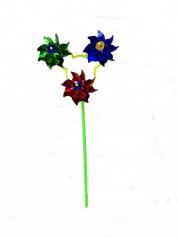 Ветрячок LYFI1215005 3 цветка (1000шт/ящ) 10шт/уп