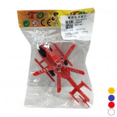 Вертолет инерц.911-8A(90600)(1980шт2)4 цвета, в пакете 15*10см