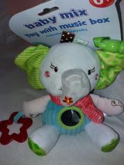 Підвіска музична - Слоник P1174-EU00