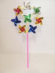 Ветрячок LYFI1215008 45см 8 цветков (1000шт/ящ) 10шт/уп