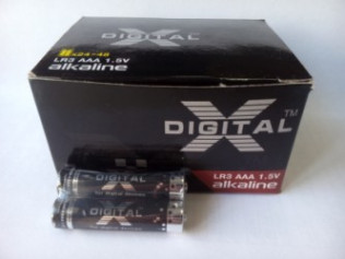Бат. X-DIGITAL Longlife  LR 03 Super Alkaline 48шт/уп
