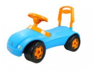 Машинка для катання МЕРСИК блакитний  16