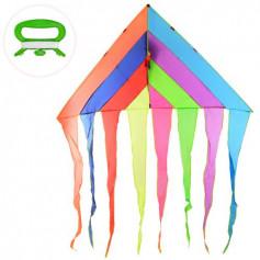 Воздушный змей M 6048 (40шт) ширина180см, длина98см, в кульке, 147-8-3см