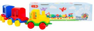 """Паравозик """"Kid cars"""" 3 шт. 39260"""